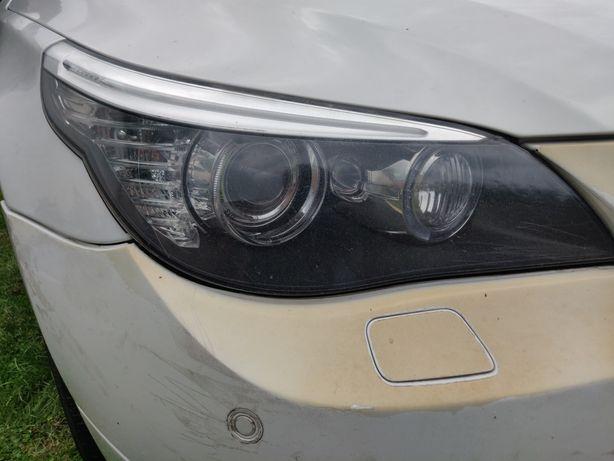 Lampa prawa Xenon dynamic lift ,BMW E60
