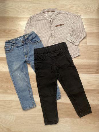 Рубашка та джинси
