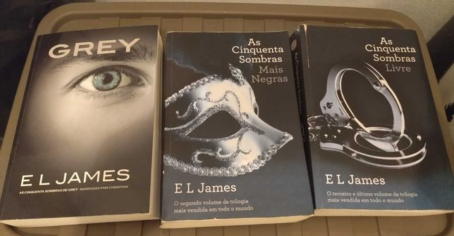 Trilogia cinquenta sombras de grey promoção 17,50€
