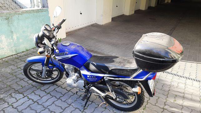 Motocykl SENKE SK125 (Prawo jazdy kat. B)