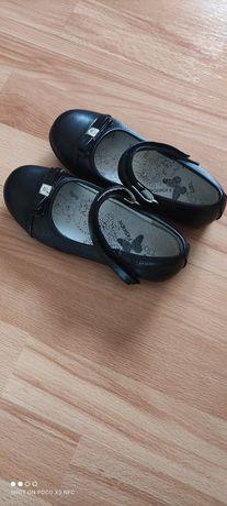 Czarne, eleganckie buciki r.30