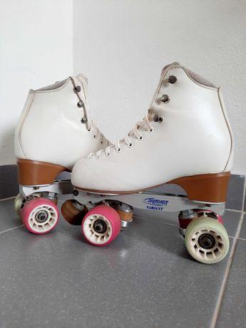 Patins patinagem artística tamanho 250