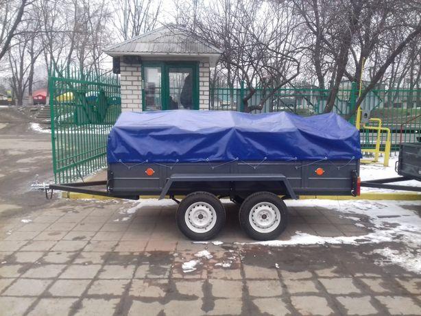 ДВУХОСНЫЙ ПРИЦЕП ЛЕВ-300 *1.4 от завода производителя под категорию Б