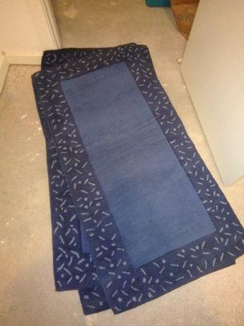 Tapetes de quarto azuis