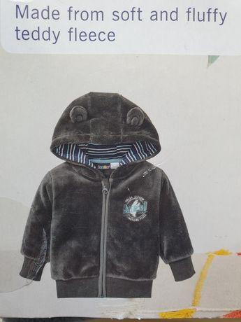 Nowa bluza polarowa teddy 86/92 Lupilu 12-24 kurtka jesienna przejścio