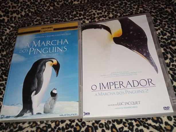 2DVD• A Marcha dos Pinguins 1+2