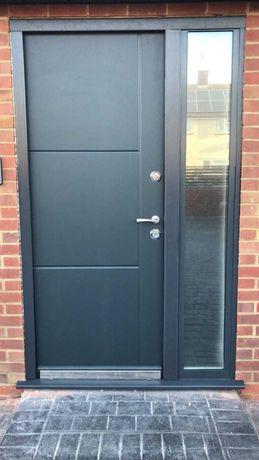 Двері металеві з МДФ накладками і без