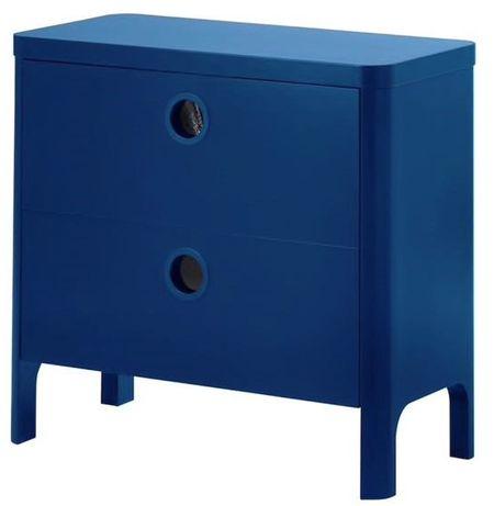 Komoda Ikea Busunge niebieska