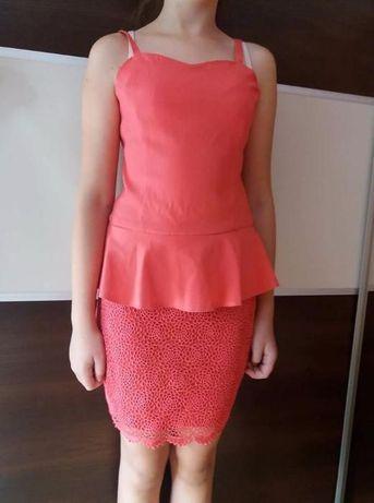 Sukienka z baskinka roz. S