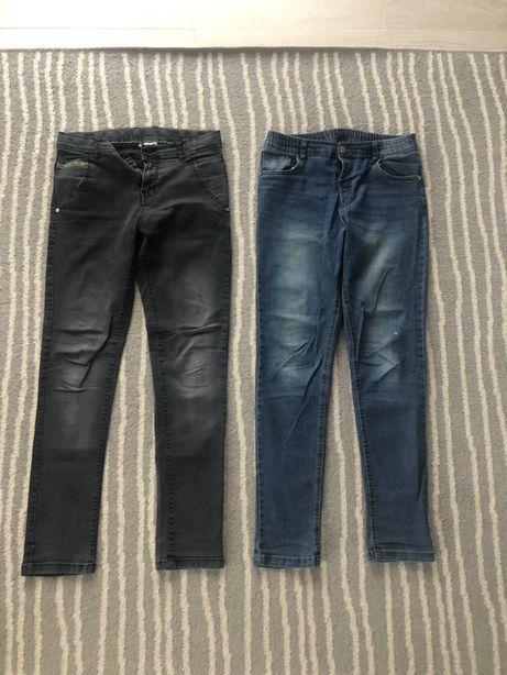 Spodnie chłopięce dla chłopca na 164 długie spodnie dżinsy jeans
