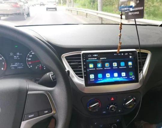 Hyundai Solaris 2 Verna 2017 - 2020 radio tablet android + carplay