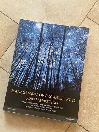 Management of organisations and marketing