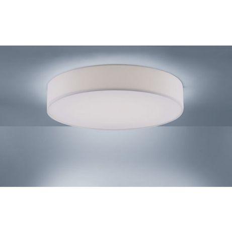 Biały abażur LED plafon styl Skandynawski KIARA zimne/ciepłe OUTLET