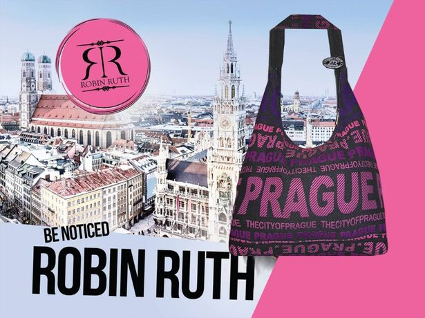 Новая! Женская трендовая сумка Prague, оригинал ROBIN RUTH