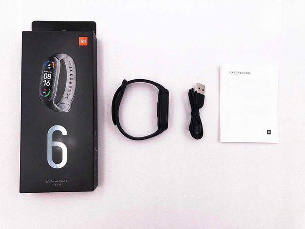 Smartband opaska sportowa Xiaomi Mi Band 6 czarna