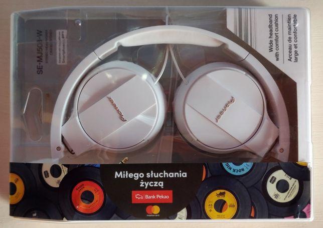 Słuchawki PIONEER SE-MJ503-W