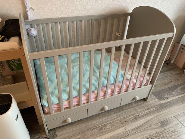 Łóżeczko łóżko dziecięce Gonatt Ikea