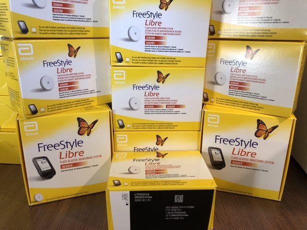 Качественные сенсоры FreeStyle Libre 1 Великобритания Англия оригинал