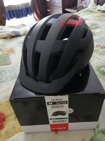 Велошлем Met allroad (не abus, scott, giro, specialized)