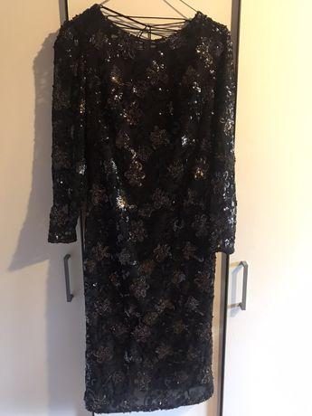 SIMPLE Dorota willams sukienka cekiny 36 sylwester