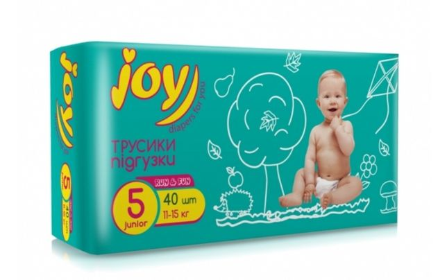 Подгузники-трусики Joy 5