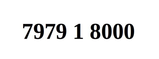 Ładny Numer Starter Orange 7979. 1. 8000