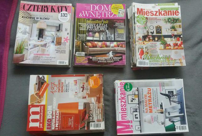 czasopisma M jak mieszkanie Moje mieszkanie Cztery kąty Dom & wnętrze