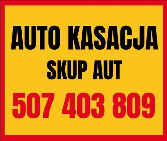 Kasacja pojazdów Złomowanie Skup AUT