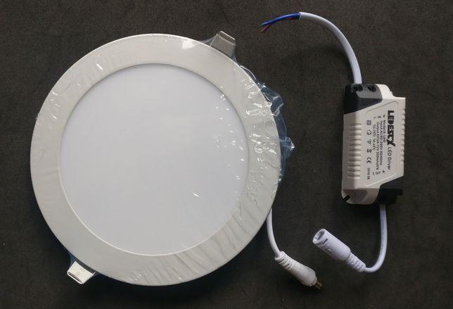 Painel LED WC redondo 12w IP44