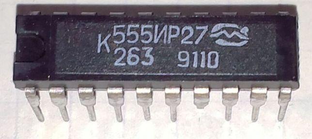 Микросхема К555ИР27