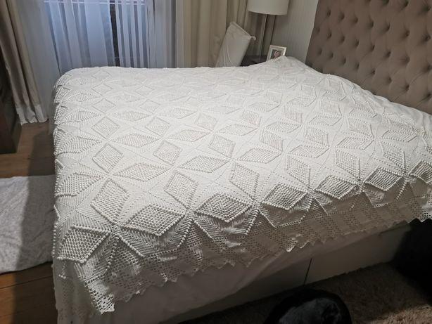Colcha cama casal renda antiga
