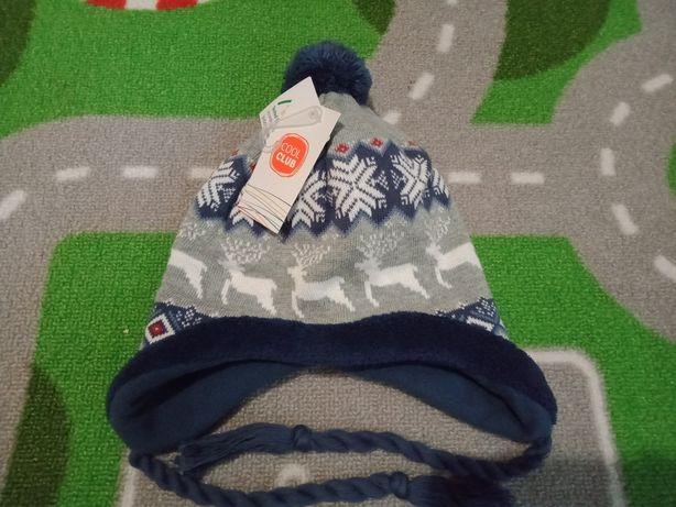 Зимняя шапочка шапка тёплая новая