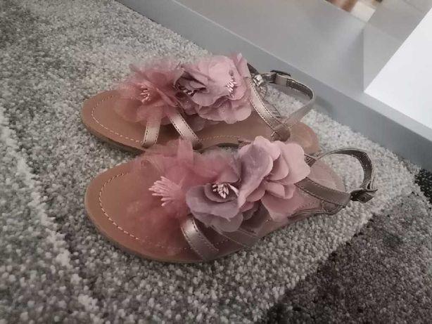 Sandały dziewczęce next Nowe