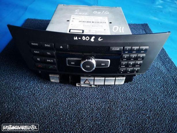 MERCEDES BENZ C220 W204 2008-2012 RADIO UNIDADE A204 900 54 10  A204 901 18 13