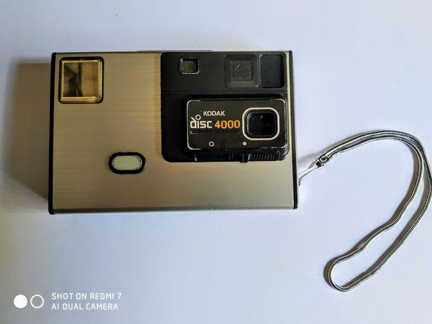 Máquina fotográfica Kodak disco