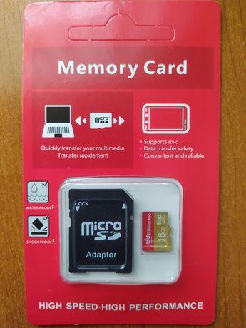 Карта памяті на 16 та 32 GB,  Moric, Kingston, флешка, накопичувач SSD