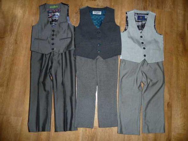 Жилетка и брюки на 4-5 лет