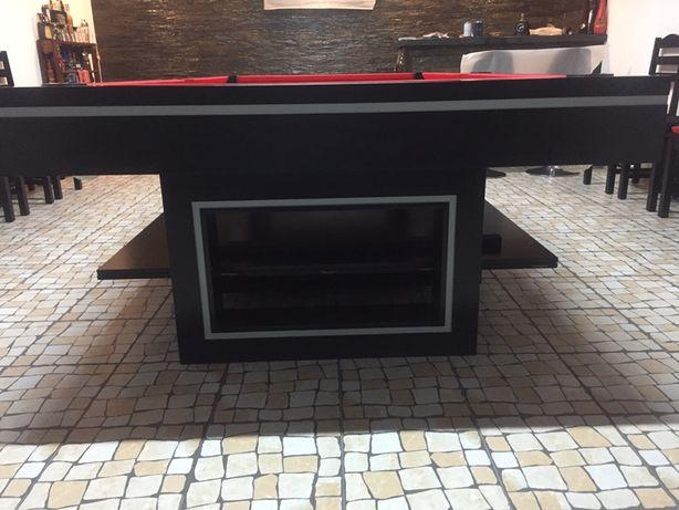 Mesa snooker com tampo