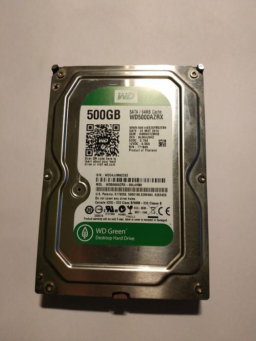 Жёсткий диск Western Digital Green 500gb Мариуполь - изображение 1