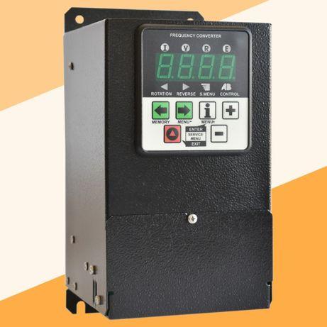 Преобразователь частоты CFM210 1.1кВт. Инвертор, частотник.