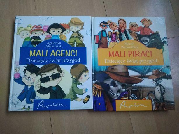 książki dla dzieci mali agenci mali piraci