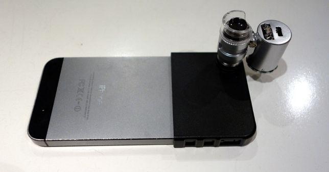 Микроскоп для iPhone с UV-подсветкой