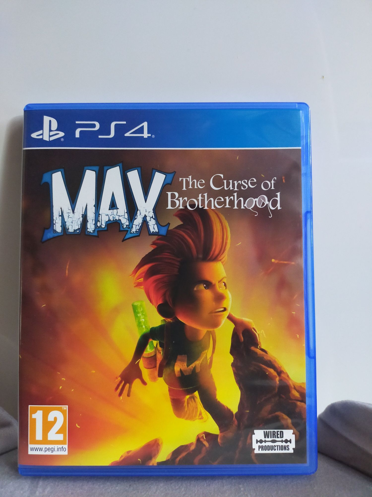 Max The Curse of Brotherhood PS4 stan idealny