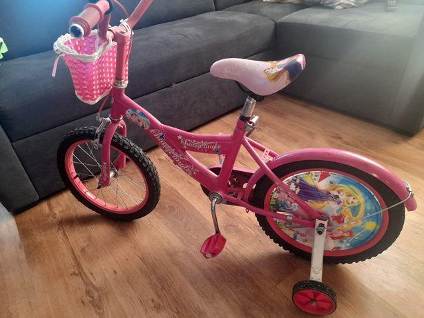 """Rower dla dziewczynki 16"""" różowy"""
