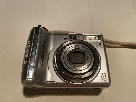 Цифровой фотоаппарат Canon power shot A560