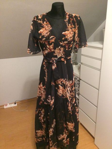 Hope & Ivy długa sukienka rozm. 8 (36)
