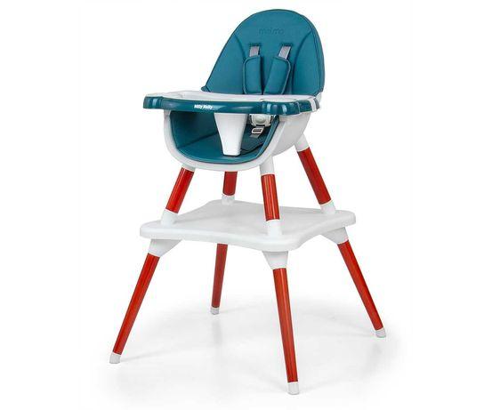 Krzesełko do karmienia 2w1 Malmo Dark Green