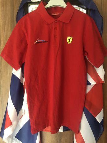 Polo t-shirt Ferrari koszulka M/L mustang mercedes