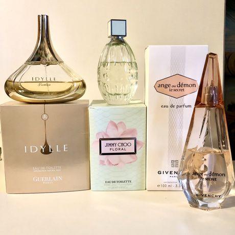 Guerlain Givenchy Jimmy Choo продажа/обмен парфюмерии