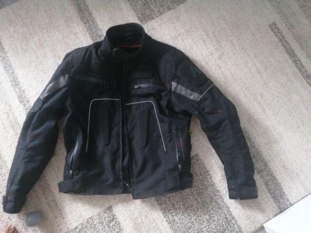 Kurtka motocyklowa, spodnie motocyklowe, rękawiczki motocyklowe